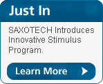 Just In - New SAXOTECH stimulus plan.